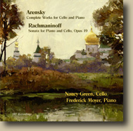 Arensky, Rachmaninoff Cello Works