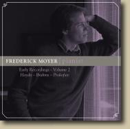 Frederick Moyer, pianist: Early Recordings Volume 2